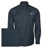 Red House Deep Blue Herringbone Long Sleeve Shirt-Official Logo
