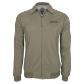 Khaki Players Jacket-Arched Jackson State University
