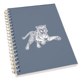 College Spiral Notebook w/Clear Coil-Tiger