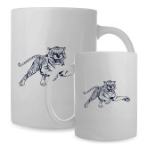 Full Color White Mug 15oz-Tiger