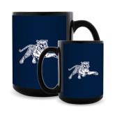 Full Color Black Mug 15oz-Tiger