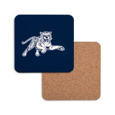 Hardboard Coaster w/Cork Backing-Tiger