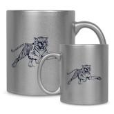 Full Color Silver Metallic Mug 11oz-Tiger