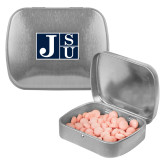 Silver Rectangular Peppermint Tin-Official Logo