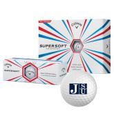 Callaway Supersoft Golf Balls 12/pkg-Official Logo
