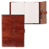 Fabrizio Junior Brown Portfolio w/Loop Closure-jda, Personalized