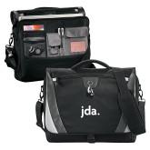 Slope Black/Grey Compu Messenger Bag-jda