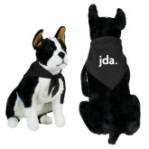 Black Pet Bandana-jda - 2 inches wide