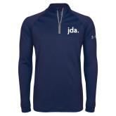 Under Armour Navy Tech 1/4 Zip Performance Shirt-jda - 2 inches wide