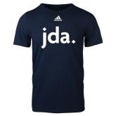 Adidas Navy Logo T Shirt-jda