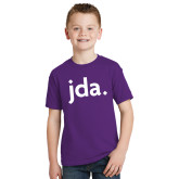 Youth Purple T Shirt-jda