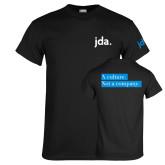 Black T Shirt-jda - 2 inches wide