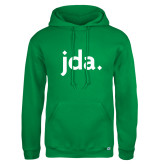 Russell DriPower Kelly Green Fleece Hoodie-jda