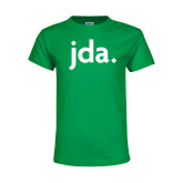 Youth Kelly Green T Shirt-jda