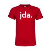 Youth Red T Shirt-jda