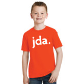 Youth Orange T Shirt-jda