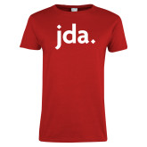 Ladies Red T Shirt-jda
