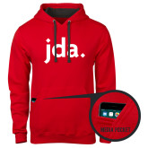 Contemporary Sofspun Red Hoodie-jda