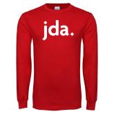 Red Long Sleeve T Shirt-jda