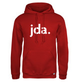 Russell DriPower Red Fleece Hoodie-jda