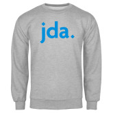 Grey Fleece Crew-jda