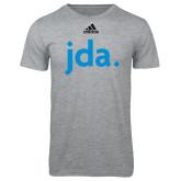 Adidas Sport Grey Logo T Shirt-jda