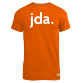 Russell Orange Essential T Shirt-jda