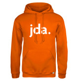 Russell DriPower Orange Fleece Hoodie-jda