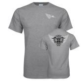 Grey T Shirt-jda wing