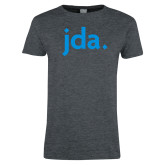 Ladies Dark Heather T Shirt-jda