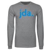Grey Long Sleeve T Shirt-jda
