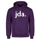 Purple Fleece Hoodie-jda