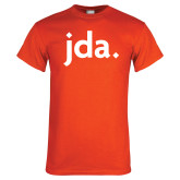 Orange T Shirt-jda