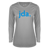Ladies Syntrel Performance Platinum Longsleeve Shirt-jda