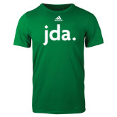Adidas Kelly Green Logo T Shirt-jda