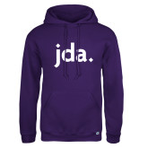 Russell DriPower Purple Fleece Hoodie-jda