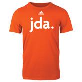 Adidas Orange Logo T Shirt-jda