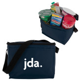 Six Pack Navy Cooler-jda - 2 inches wide
