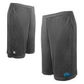 Russell Performance Charcoal 10 Inch Short w/Pockets-jda - 2 inches wide