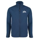 Navy Softshell Jacket-jda