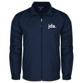 Full Zip Navy Wind Jacket-jda