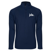 Sport Wick Stretch Navy 1/2 Zip Pullover-jda