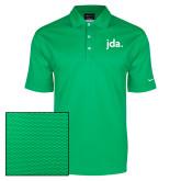 Nike Dri Fit Vibrant Green Pebble Texture Sport Shirt-jda