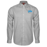 Red House Grey Plaid Long Sleeve Shirt-jda