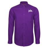 Red House Purple Long Sleeve Shirt-jda