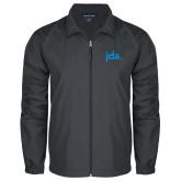 Full Zip Charcoal Wind Jacket-jda