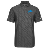 Nike Dri Fit Charcoal Embossed Polo-jda