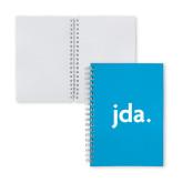 Clear 7 x 10 Spiral Journal Notebook-jda