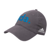 Adidas Charcoal Slouch Unstructured Low Profile Hat-jda