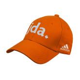 Adidas Orange Structured Adjustable Hat-jda